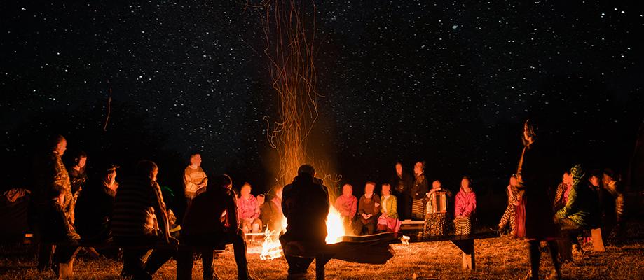 Community Bonfire Night on the Lakes Estate