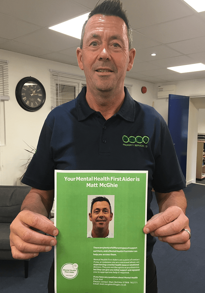 FSG's New Official Mental Health First Aider