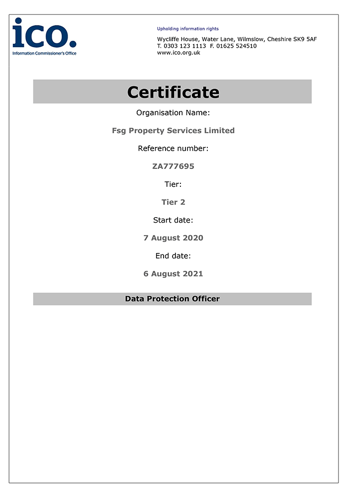 We Received Our ICO Certificate