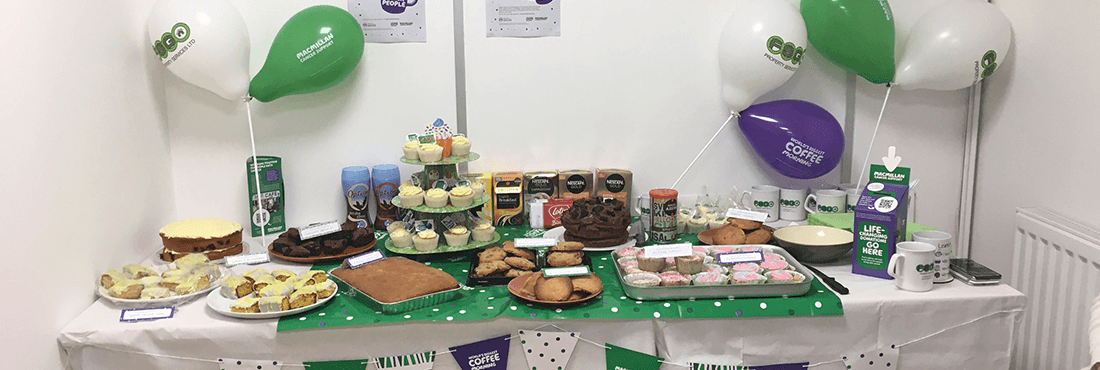 Macmillan Coffee Morning!